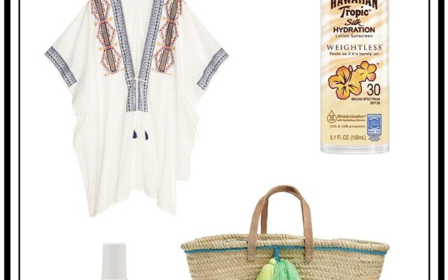 5 Things To Pack In Your Beach Bag