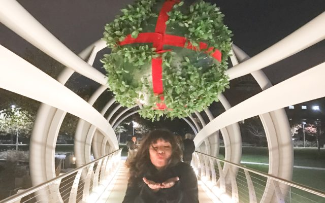 Local Love: The Yards Mistletoe Installation