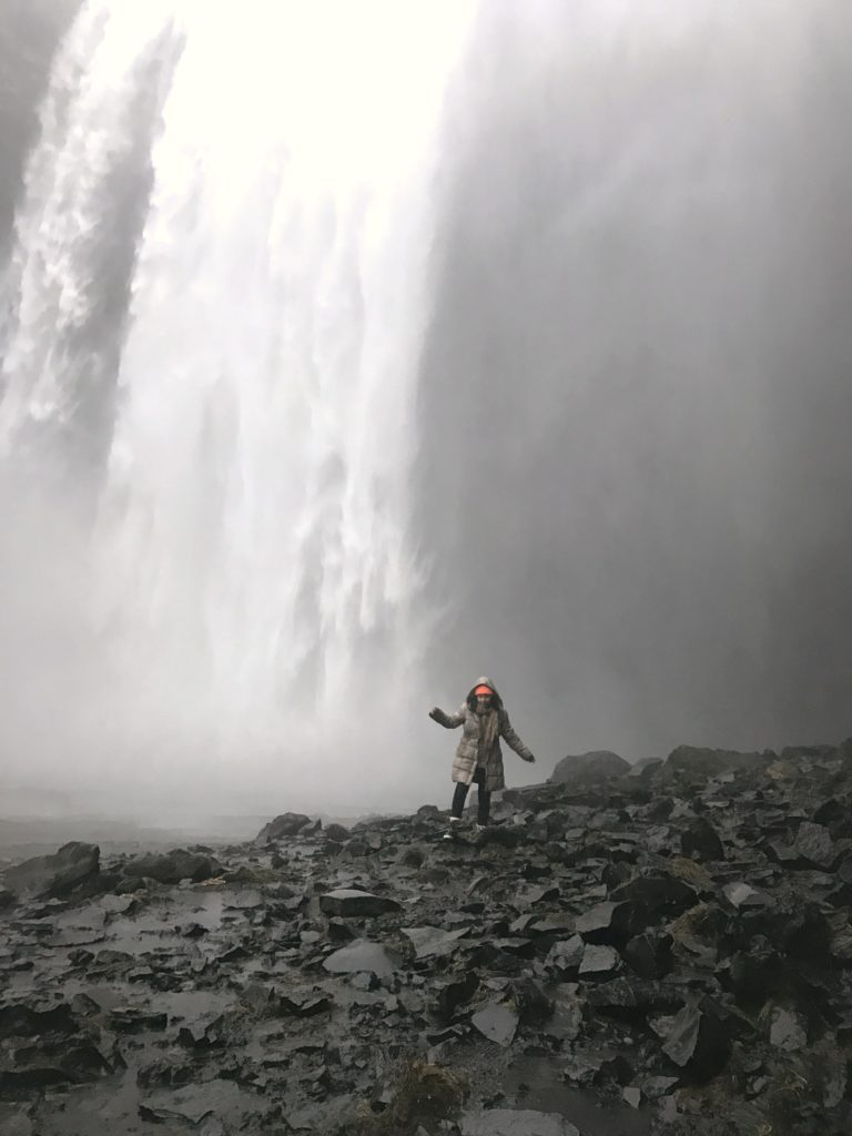 Skógarfoss waterfall